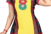 Designer Kurti / Buy Online Kurtis, Indian Designer Kurtis, Tunics, Tops and Online Shopping for Kurtis India from Kolkozy.com.