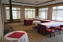 Banquet rooms for rent.