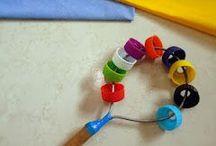 Okul öncesi müzik aleti yapımı