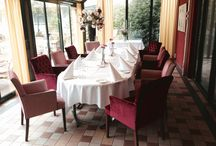 Serre / Dineren in een intieme setting / by Hotel Restaurant Oud London