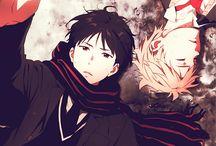 любимые герои аниме