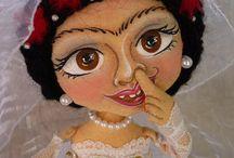 Luzmina's Corner Dolls / Algunas cosillas que van saliendo de mi taller creativo... ;)