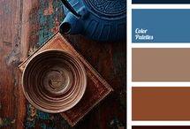 Paint Colour palettes