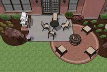 back yard/porch