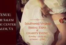 Southwest VA Bridal Expo & Charity Event, 10-25-15 / Meet our Participating VIP Exhibitors who are ready to meet, connect and assist the VIP Brides, Newly Engaged and Couples. We are your One-Stop-Connections. We will make your wedding dreams come into reality! Visit with us, register today! https://www.facebook.com/events/137715193230022/165868177081390/