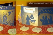 Merry Christmas idee regalo card handmade / hobby handmade, Merry Christmas