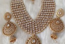 pakistani  Bridal Jewelry Set | Beautiful Polki Necklace Set