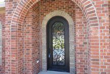 Eclectic Front Door Design