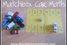 car themed math