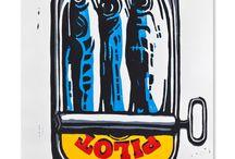Linoryt pop art