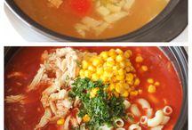 Soups, stews , etc / by Angie McDaniel