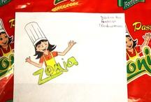 Dibujos de Pastas Zonia