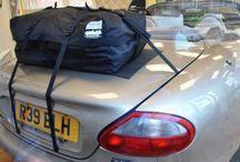Jaguar XK8 Cabrio Gepäckträger / Die Alternative zu einem Gepäckträger für lhren Jaguar XK8.Hinzufügen von Wasserdicht 50 Liter Gepäckraum