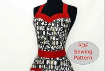 Apron patterns / Possible fund raiser