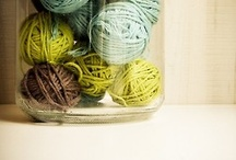 For the Love of Yarn! / Beautiful pictures of yarn.