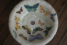 Mis cerámicas  / Cerámicas pintados por mi