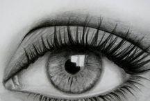 глаза и лица