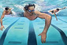 Uinti / Uimiseen liittyvää.