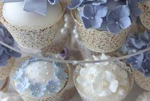 Blue Wedding Colour Schemes / Cool blue wedding ideas