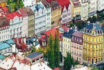 karlovy vary....!!! Prague.....!!! / I want to go back there.... a fairytale town....