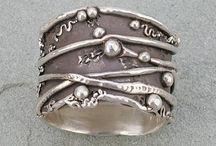 metal clay jewels