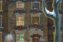 Χριστουγεννιατικη ζωγραφικη