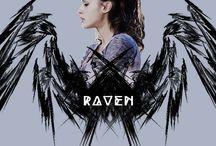 Raven || The 100 oc