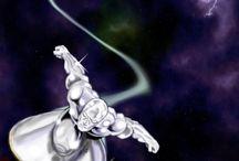 Silver Surfer / Silver Surfer viaggia nello spazio e per i mondi