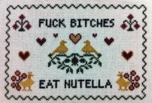 Cross Stitch & Embroidery / by Trisha Desjardins