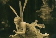 vintage ballerinas