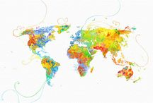 I love maps / by learn.share.change