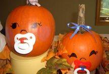 Pumpkin Themed Baby Shower / by Carol Gray