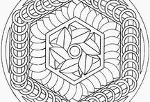 Mandalas y dibujo para adultos