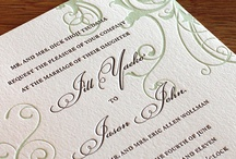 {invitation design} carmel / by Invitations by Ajalon