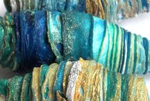 TEXTILE BEADS