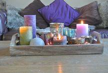 Gezellig huis / Kaarsen