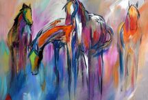 caballos en el arte