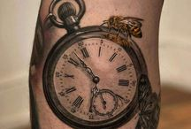 Pocket Watch Tattoos / A pocket watch tattoo is much loved because of its symbolic meaning. It has a very special meaning which associates it with the importance of time more at http://fabulousdesign.net/pocket-watch-tattoos-meanings/