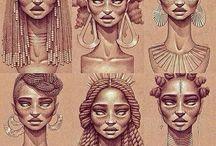 Tatoo Rainha africana