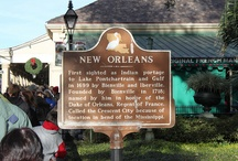 Travel: New Orleans, LA / Best time to travel is March - May, November or December / by Kathy Sullivan