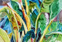 Bananeiras pinturas