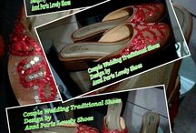 Sample Wedding Shoes Traditional
