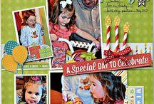 Layouts-Birthday / by Peggy Bush