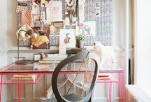 home office {creative} space / by Jen Miller