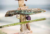 Beach signs / by Terri Garcia