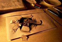 Unreal 3D Drawings / Crazy 3D Drawings that make you question reality...