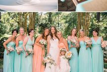 Bridesmaid colours