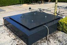 Waterelementen / Water kan op diverse manieren worden toegepast in de buitenruimte.