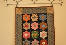 Quilting - English paper piecing/hexies
