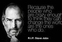 Inspiração / Aqueles que me inspiram a sonhar mais alto...